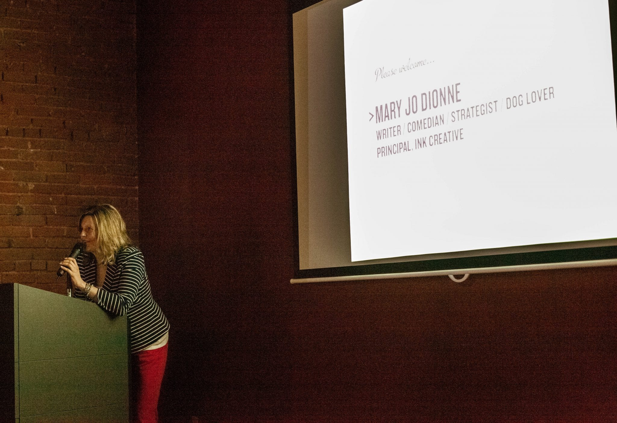 Keynote speaker, SheSays: The Global Creative Network for Women: Vancouver, 2013.