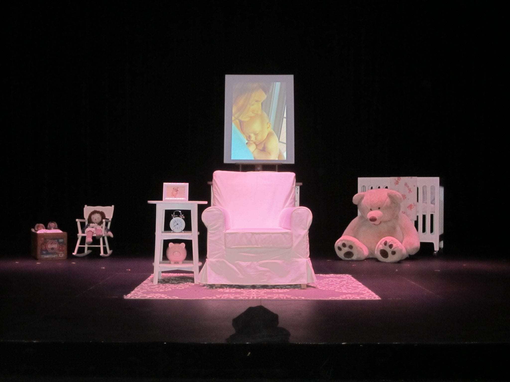 """""""Glowing: A Reproduction Production"""": Vancouver Fringe Festival, 2013."""